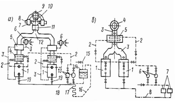 Принципиальные схемы паровой и водогрейной котельных