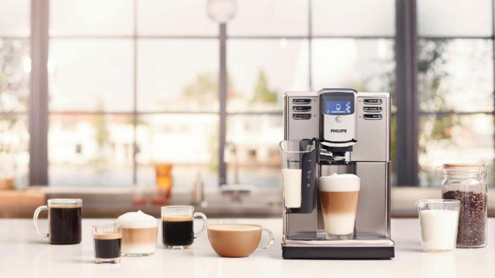 Сделать капучино с кофемашиной