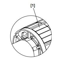 Наклеенные на ротор магниты